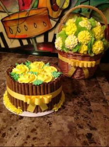 Decadent Flavor Cupcake Bouquet